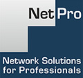 Logo von NetPro - Network Solutions for Professionals GmbH